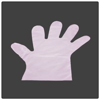 CPE high density polyethylene disposable plastic glove