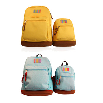 Colorful durable kids family rucksack ISO9001:2008 Ceritificate