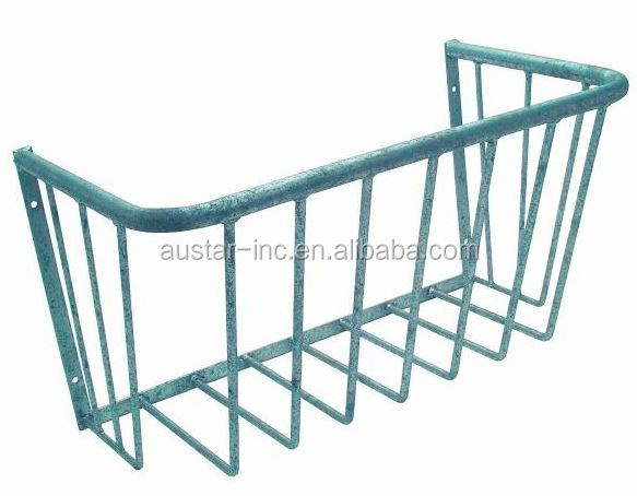 Wall Mounted Hanging Hay Feeder for Horse Goat Sheep Alpaca