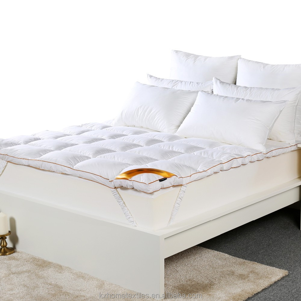 100% Poly Filled Comfortable Bed Bug Mattress Topper