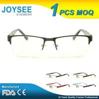 Joysee High Quality Latest Designer Vintage Stylish Metal Optical Eye Glasses Frames For Men And Women