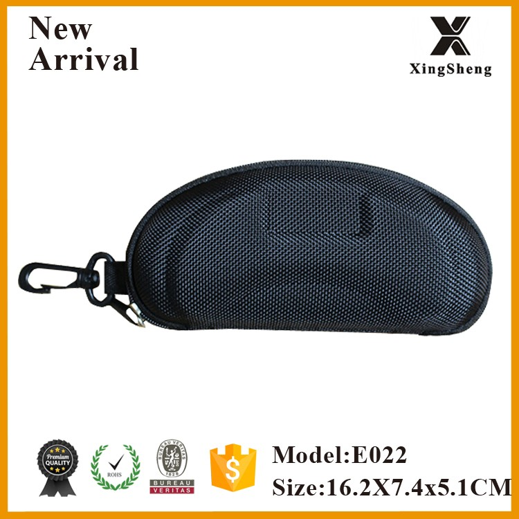 Hot selling eco friendly popular eva glasses case with belt clip