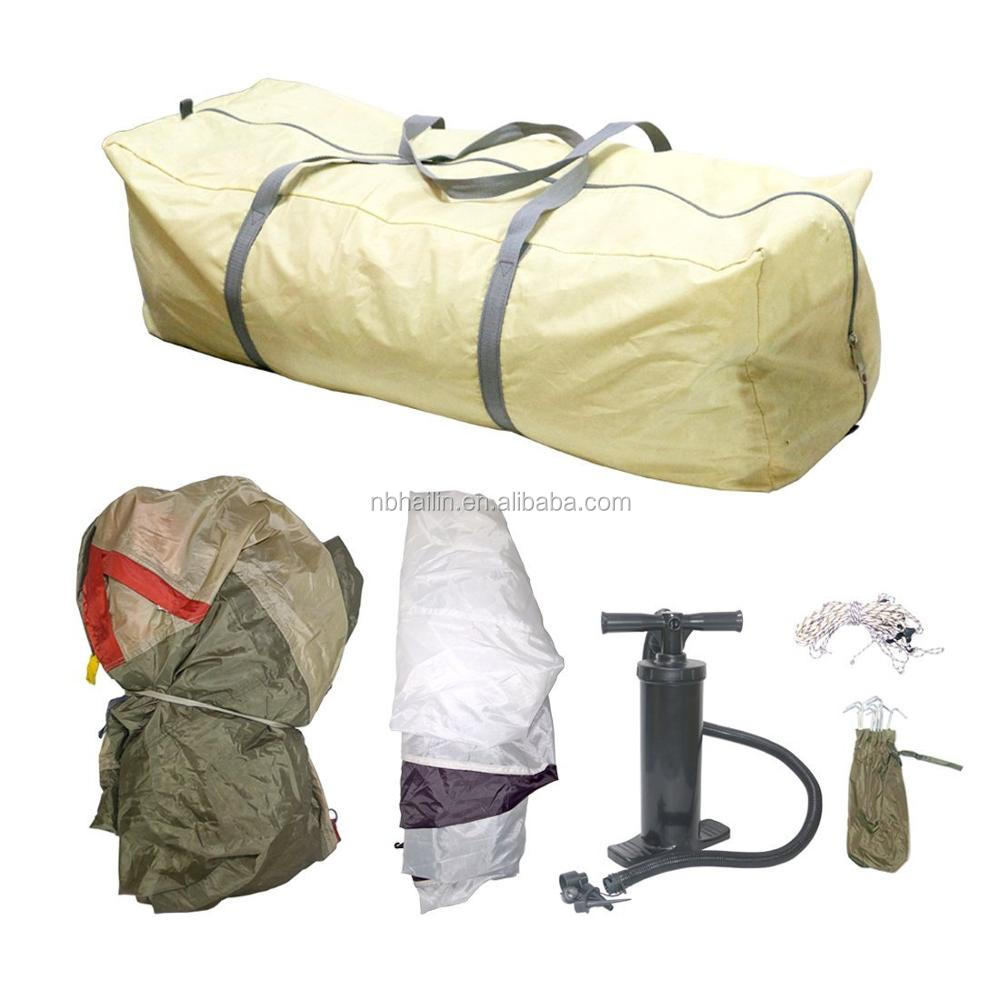 2 Person Inflatable Tent Air Pop up Tent Lightweight Instant Tent for Camping Hiking Air Pump