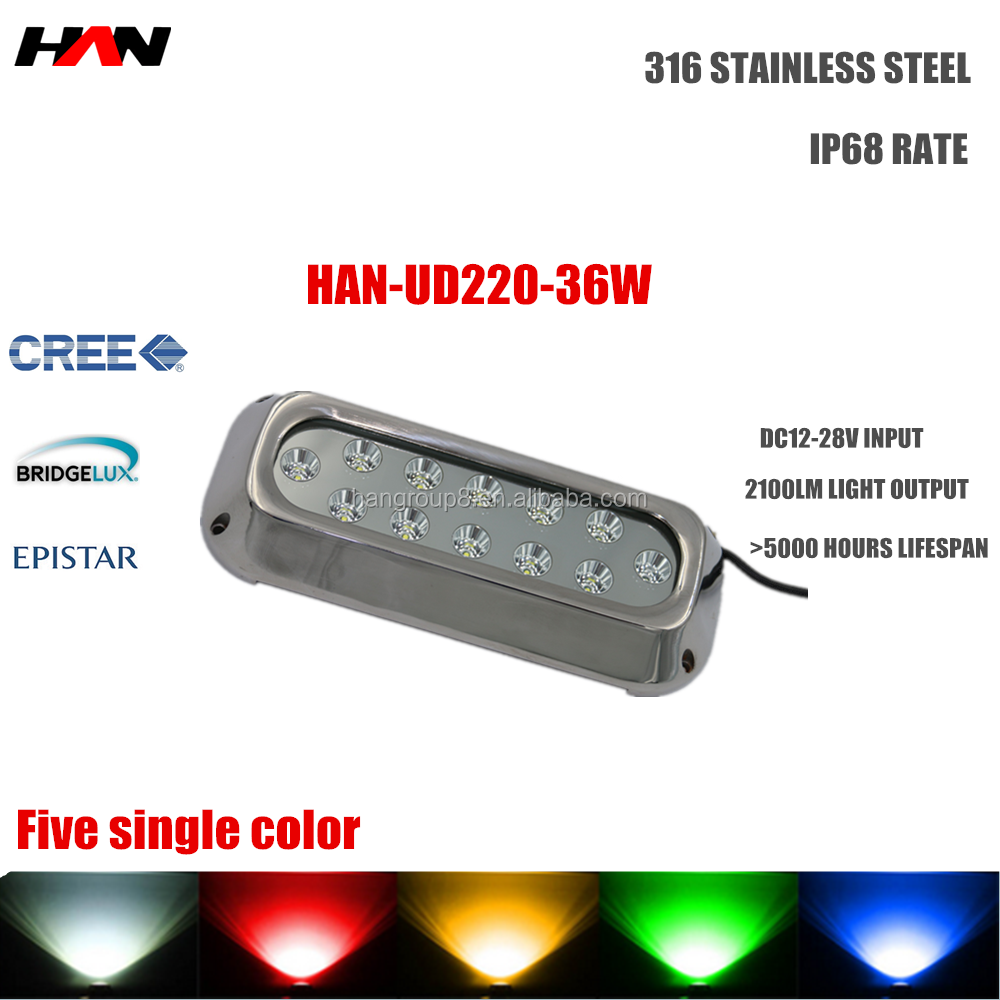 12v dc LED marine lights/ mini underwater boat light