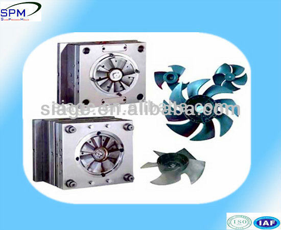 provide injection moulding for plastic electric fan