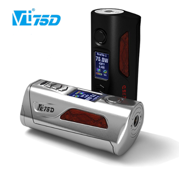New products vape mods box Hcigar VT75D dna 75w TC Box mod from Shenzhen wholesale