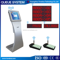 Wired/Wireless Queue System Counter Dot Matrix LED Display