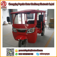 Africa YANSUMI Bajaj Tuk Tuk For Sale, Electric Tricycle Covered, Three Wheel Motorcycle For Adults