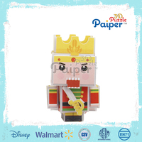 Cubie model top selling 3d foam paper puzzle mini toys for kids