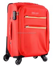 Female Red Beauty Luggage Trolley Case,OX cloth trolley luggage