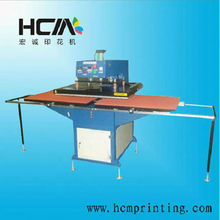 Hydraumatic type double locations sublimation hot foil stamping machine