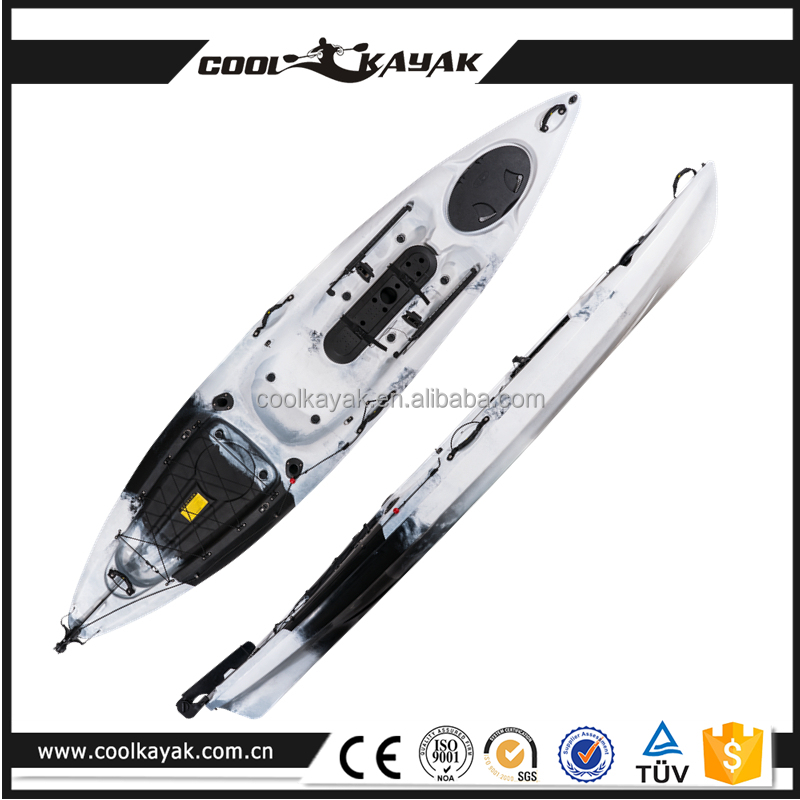 Cool kayak cheap fishing boat kayak with pedals wholesale for Fishing kayaks for sale cheap