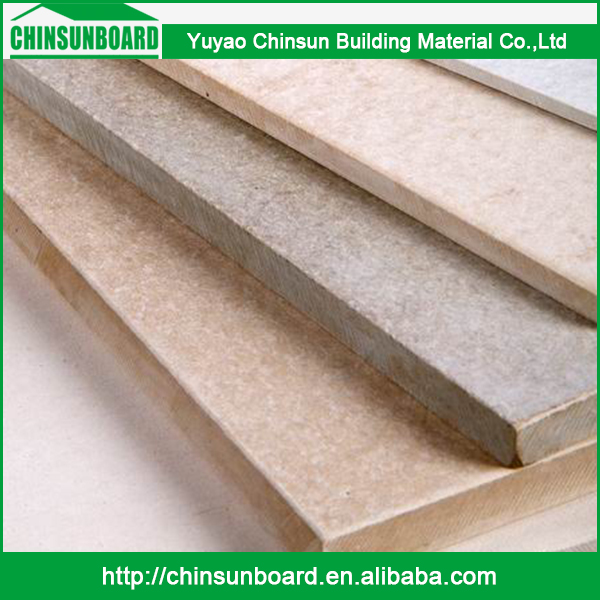 CE certificated Tested Waterproof Finely Processed Use Wood Fiber Cement Board House Sidings