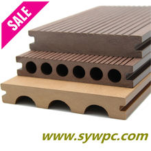 Factory sales! wpc plastic fencing flooring around swimming pool