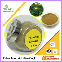 Natural Damiana Leaf Extract 4:1 10:1 20:1