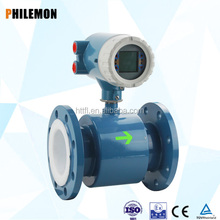 RS 485 Intelligent In line magnetic industrial waste water flow meter