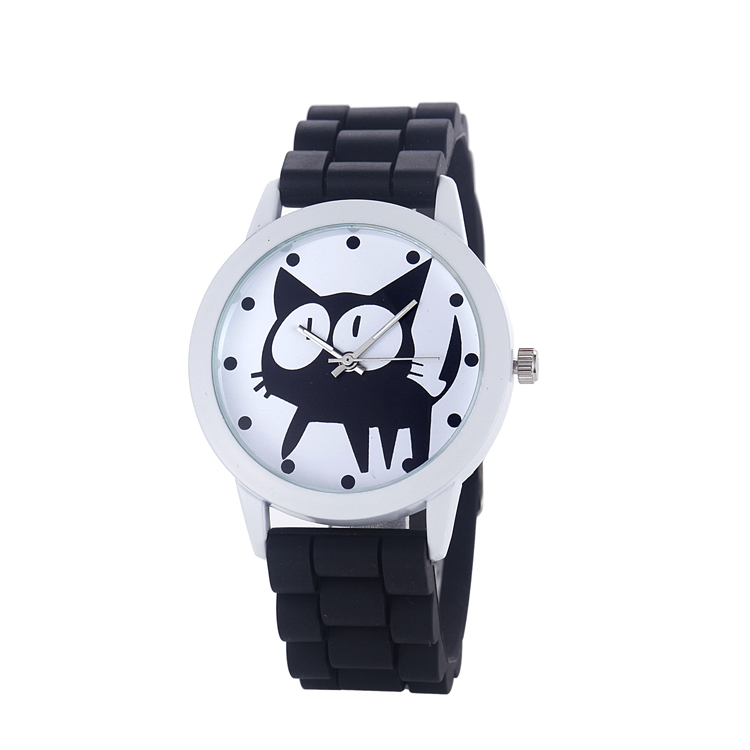 2017 Kids silicone watch children watches with 10 colors