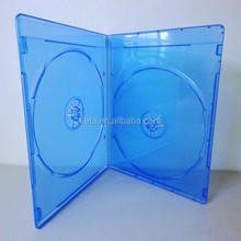 Hot Selling 7mm Slim Double Bluray DVD Case With Printing Or Emboss Logo