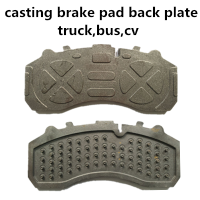 auto spare parts brake pad back plate for Mercedes truck