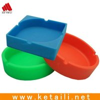 beautiful silicone ashtray made in China