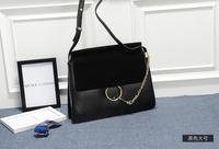 Circular Ring Handbag Bag Cirque Real Leather Hand Bag Women's Authentic Ladies Designer Ring Handbags