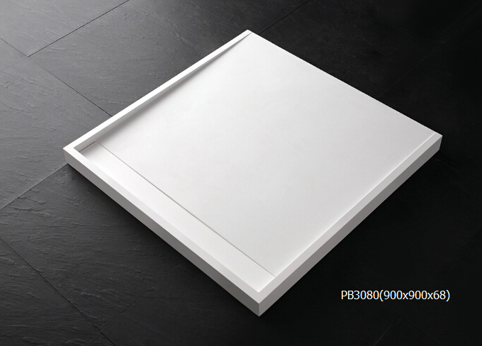 Different sizes customized acrylic shower tray