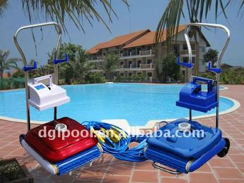 Portable machinery cleaning equipment swimming pool cleaner robot ce rohs iso9001 approval for Swimming pool cleaning machine
