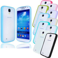 TPU Bumper Matte Clear Back Case Cover For Samsung Galaxy S4 S IV i9500