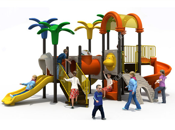 Outdoor playground item slide for children amusement park