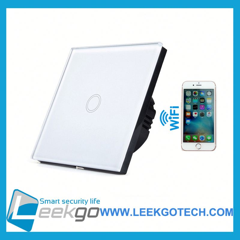 Factory 1 Gang Smart wall wifi smart touch <strong>switch</strong> for wholesale