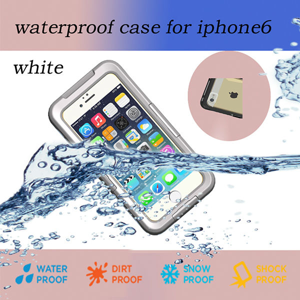 Hot Fashion Waterproof Mobile Phone Case Cover For iPhone 6 + Touch Screen Pen