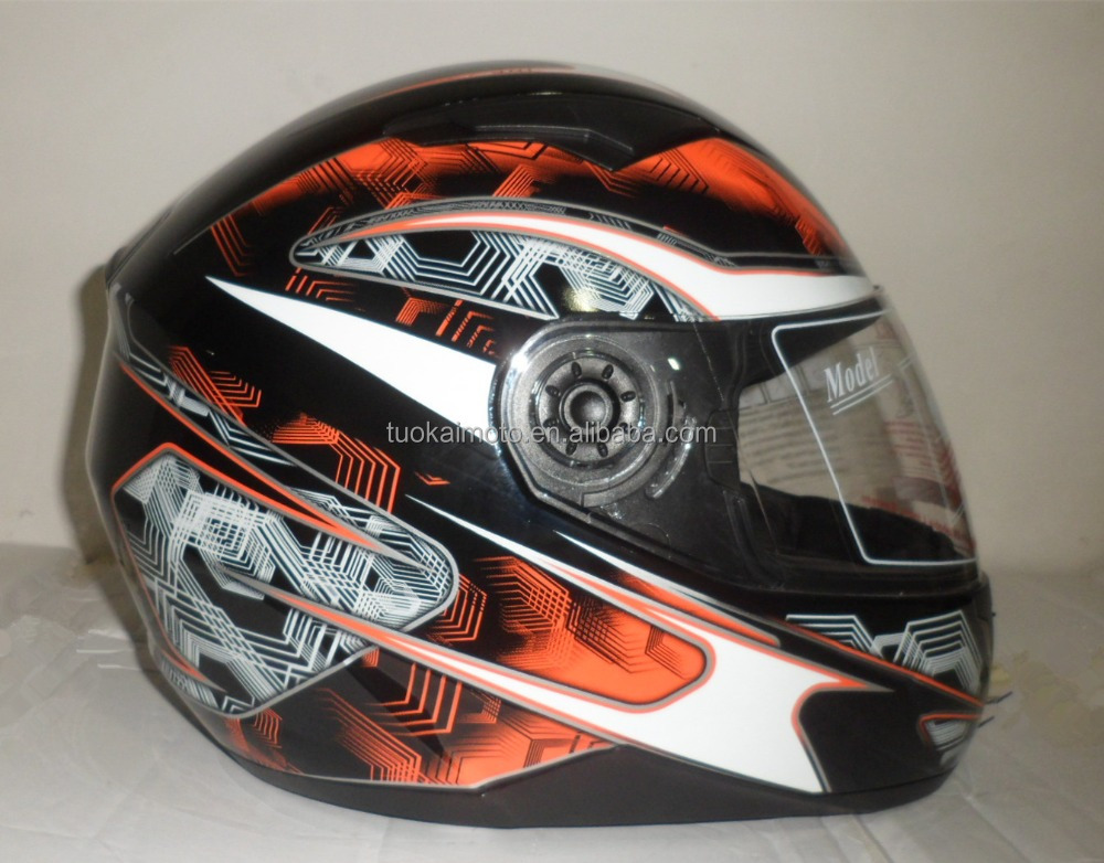 bluetooth double visor Adults ECE full face helmet (TKH-809)
