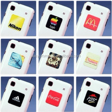 2015 hot selling promotional gifts microfiber mobile phone screen cleaner sticker