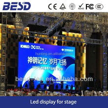 Full color rental indoor P4 led display movable LED panel p4 LED video wall for show/event/concert