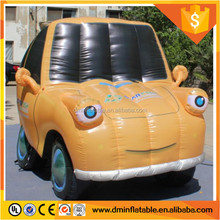 Outdoors Promotional Inflatable Mini Car Replica with free blower