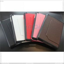 Leather case cover with ball pattern for apple iPad Mini P-iPDMINICASE018