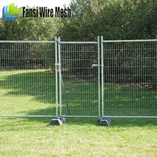 Movable playground welded cheap temporary fence for dog