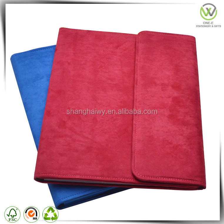 wholesale leather magazine file holder