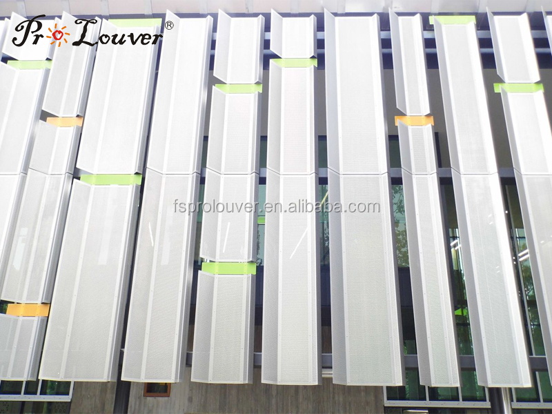 Motorized Sun Control Louvers Buy Operable Louvers Movable Louvers Aerofoil Sun Louver Product