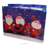 Promotional gift paper bag with sound and flashing module