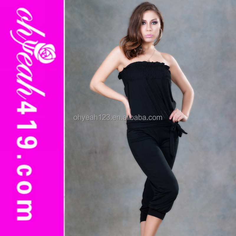 Hot sale sexy jumpsuits club wear bodysuits for ladies 2014