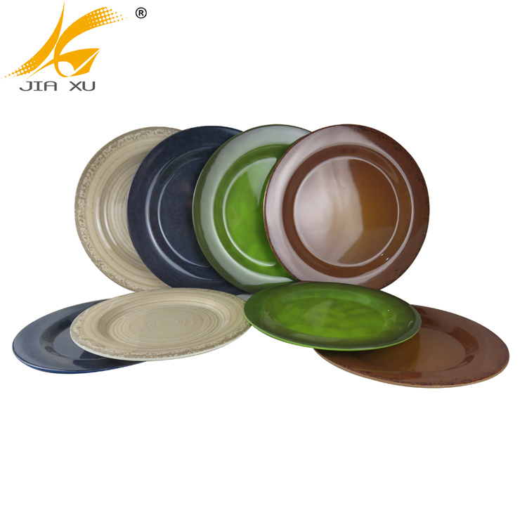 Bamboo Fiber Tableware Wholesale Bamboo Melamine  High Quality Dinnerware Plate and Bowl