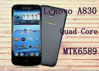 Lenovo A830 MTK6589 Quad Core 5.0 Inch IPS Screen Android 4.2 1GB+4GB 8.0MP Camera 3G WCDMA Support Multi-Language SmartPhone