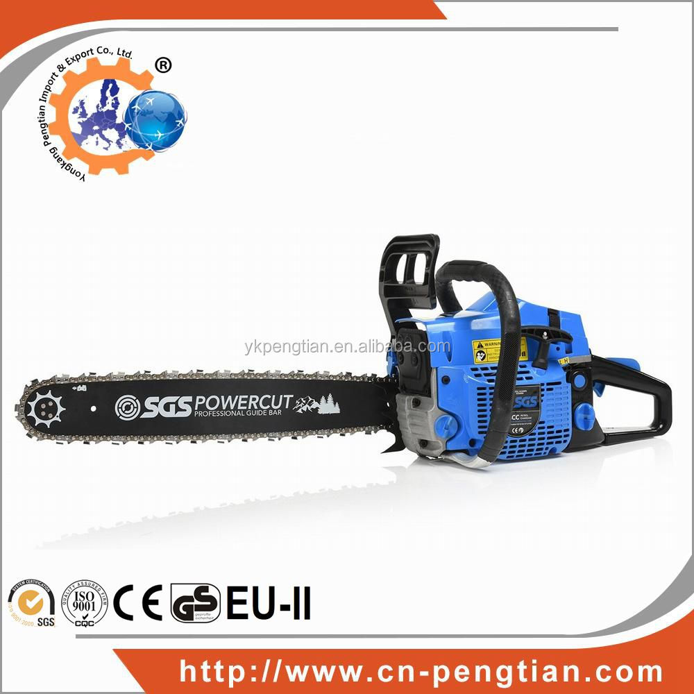 Agricultural machinery PT-CS5800 58CC Gasoline Chain saw .325.058