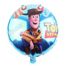 New arrival aluminum foil helium cartoon classical character cowboy balloon for baby boy gift