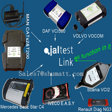 NEW Arrival Jaltest truck diagnostic scanner supports IVECO,RENAULT,Volvo,DAF,Man etc trucks 24V diesel