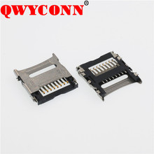 TF/ Micro SD Flip SMT T-flash Type Internal welding 8P H1.5 H1.8 Card Socket Connector