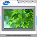 OEM CE mobile white projector to screen
