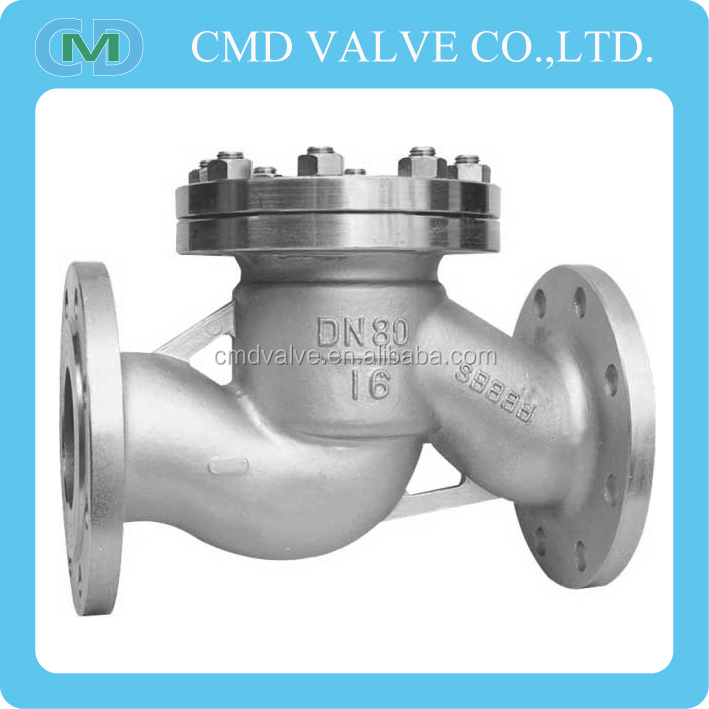 Cast Steel Spring Loaded Grease Check Valve