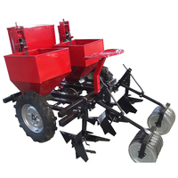 Agricultural planting machinery two row potato planter with fertilizer
